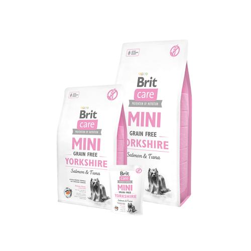 Brit Care Mini lõhe ja tuunikalaga koeratoit
